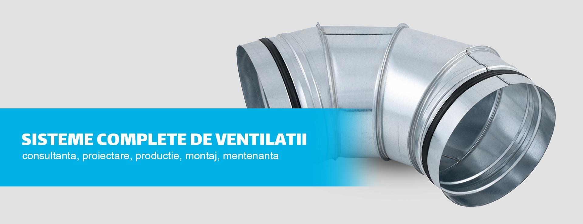 Producator sisteme de ventilatii